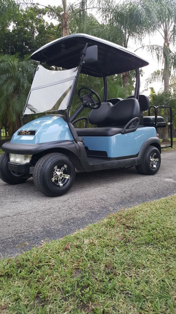 Club Car Precedent Golf Cart 4 Seater Brand New Batteries For Sale