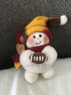Football Christmas tree ornament for Sale in Gaithersburg, MD
