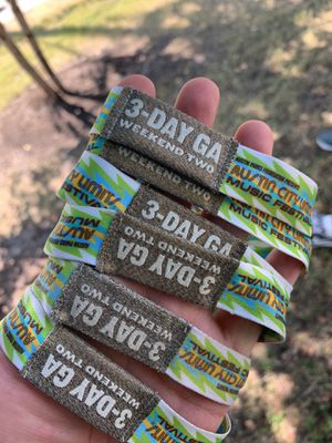 ACL WRISTBANDS SUNDAY for Sale in Austin, TX