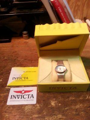 Ladies Invicta Watch model 3202 in box for Sale in Covington, GA