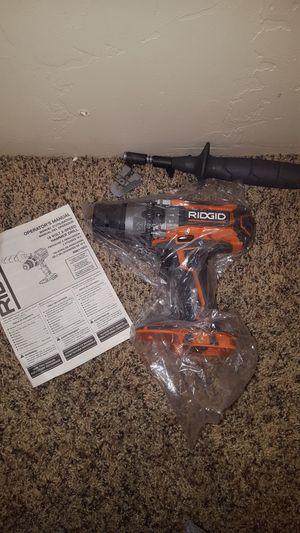 NEW Ridgid hammer drill 18v for Sale in Salt Lake City, UT