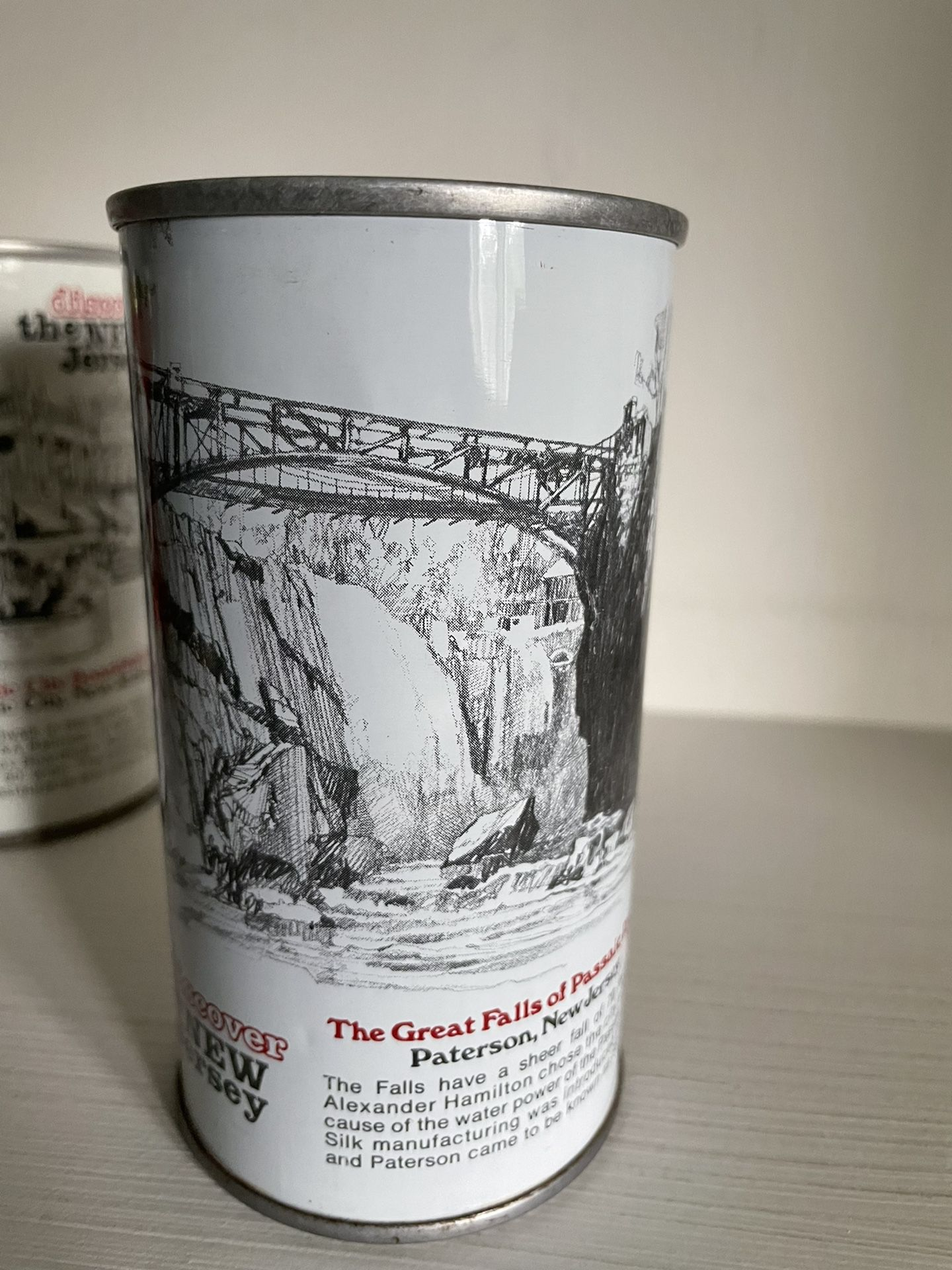 """Iron City """"Discover New Jersey"""" Collectible (Empty) Cans"""