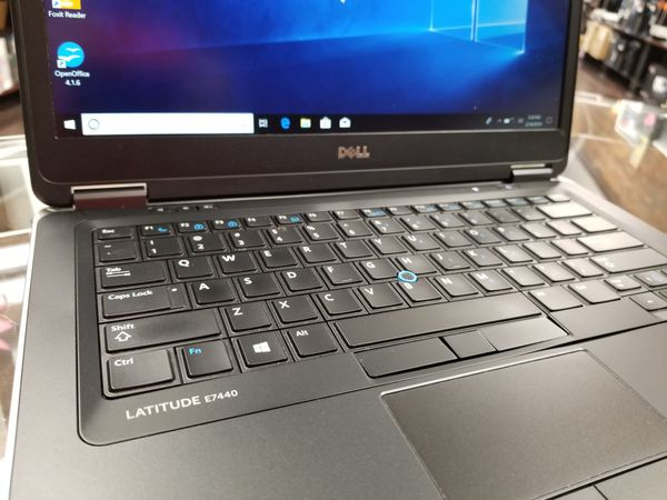 Dell Latitude E7440 Laptop i5 8GB RAM 256GB SSD Webcam WiFi Bluetooth Win  10 Pro available @ RizTech for Sale in Medina, OH - OfferUp
