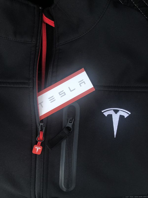 5c8505a9c Tesla men's corporate jacket, small for Sale in Upland, CA - OfferUp