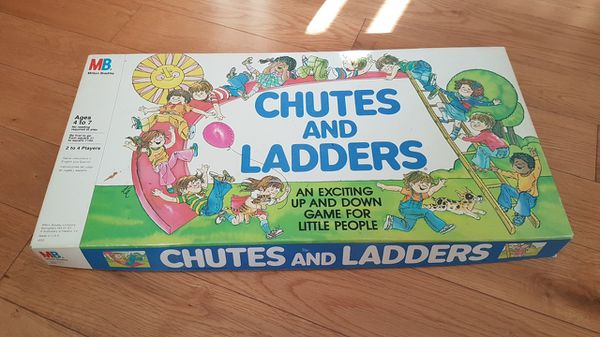 Vintage Chutes and Ladders board game for Sale in Seattle, WA - OfferUp