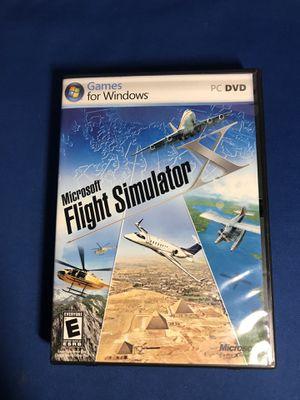 Microsoft Flight Simulator X (PC, 2006) for Sale in Tamarac, FL