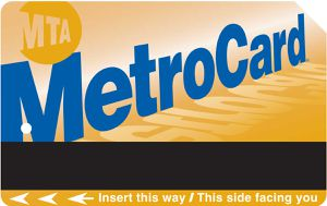 Monthly metro card with receipts for Sale in Brooklyn, NY