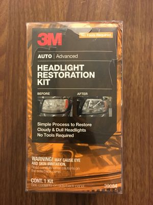 3M headlight restoration kit for Sale in New York, NY
