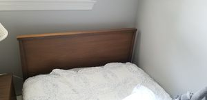 Mid century modern bed frame for Sale in Gaithersburg, MD