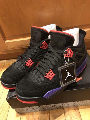 Jordan 4 retro raptors sz 10.5 $220 for Sale in Fairfax, VA