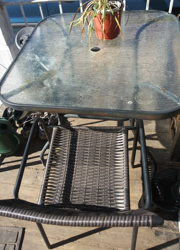 Outdoor Table 2 Chairs Augusta Ga