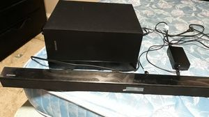 Samsung Sound Bar and Subwoofer for Sale in Portland, OR