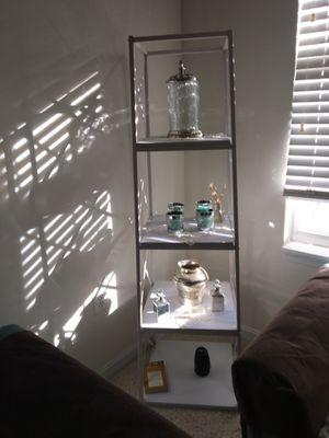 White four shelf bookcase for Sale in Fairfax, VA