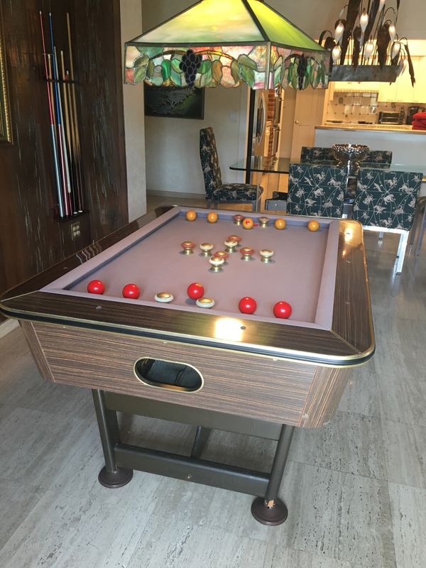 Bumper Pool Table For Sale In Miami FL OfferUp - Mobile pool table