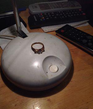 Photo Vintage costume jewelry ring