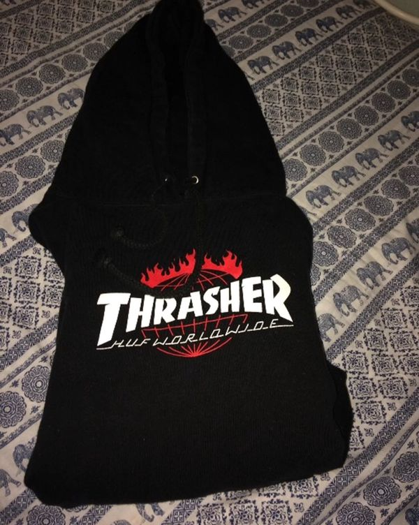 9d565c78a3 Huf x thrasher hoodie (Clothing & Shoes) in Modesto, CA - OfferUp