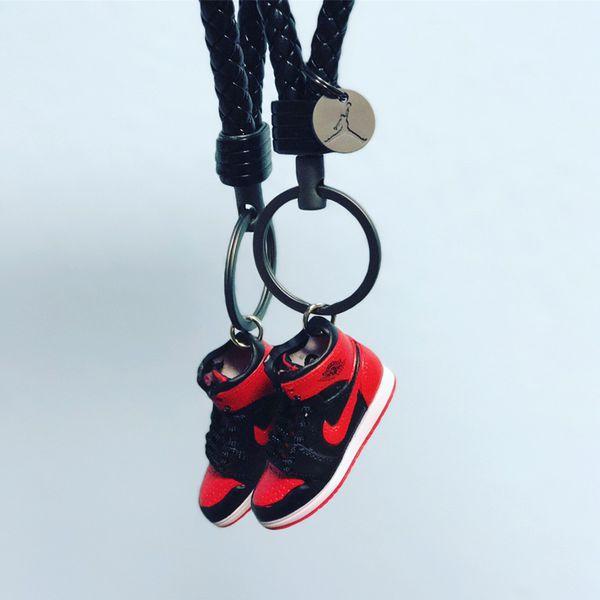 94b2d17b909bee Nike Air Jordan Retro 3D sneaker Keychain selection bred banned space jam