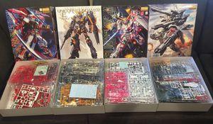 Gundam's 1/100 MG's for Sale in Winchester, CA