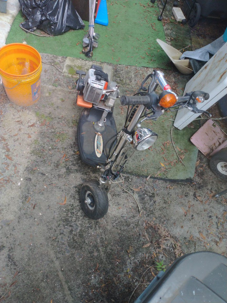 Go Ped...Needs Cleaned Carb..This Thing Does About 35-40 Mph