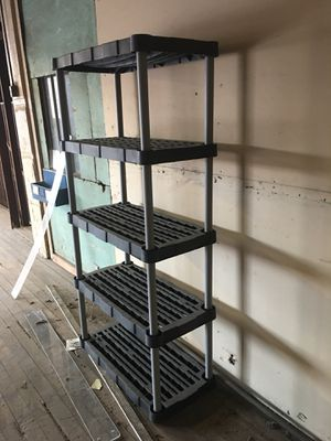 Plastic shelves for Sale in St. Louis, MO