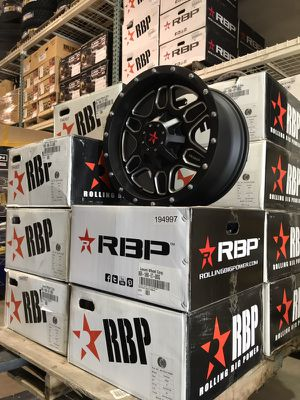 """5 18"""" Jeep Wheels brand new in boxes for Sale in Chicago, IL"""