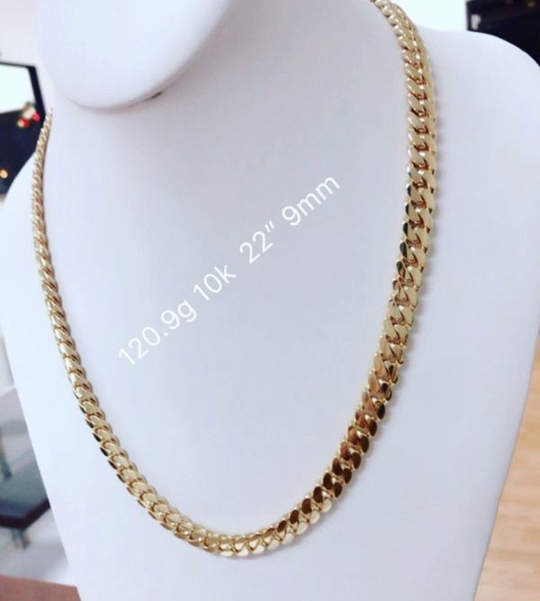 Cuban Link Chain For Sale >> 10k Gold Miami Cuban Link Chain For Sale In Tampa Fl Offerup