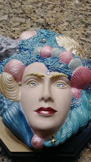 Annika Wave Goddess Ceramic Wall Art for Sale in Orlando, FL