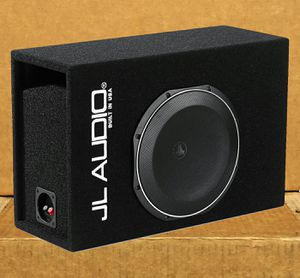 Photo JL Audio TW1 Series Car Bass Speaker 12 Subwoofer MicroSub Ported Enclosure 600 watts 🚨 90 Day Payment Options Available 🚨 No Credit Needed 🚨