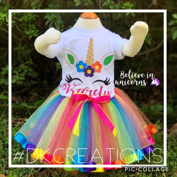 f4ee81fee Unicorn Birthday outfits / fiesta / party for Sale in Houston, TX ...