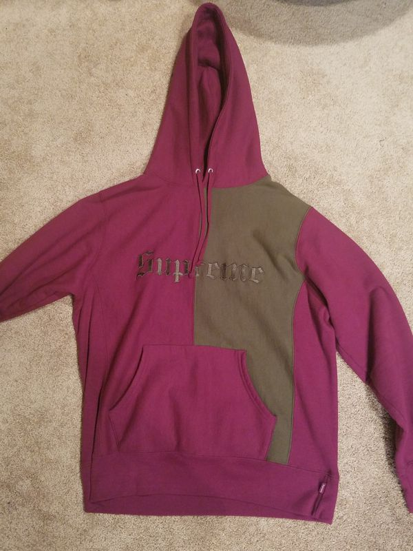 c0b8d10c2 Supreme old English split Hoodie for Sale in Seattle, WA - OfferUp