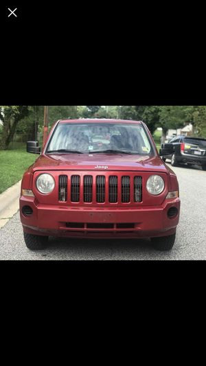 JEEP PATRIOT 2008 O.B.O for Sale in College Park, MD