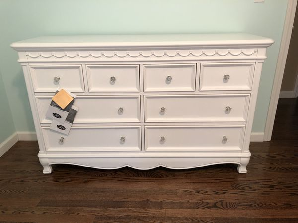 Baby Dresser New Cache Adelina Pure White Bureau For In Orange Ct Offerup