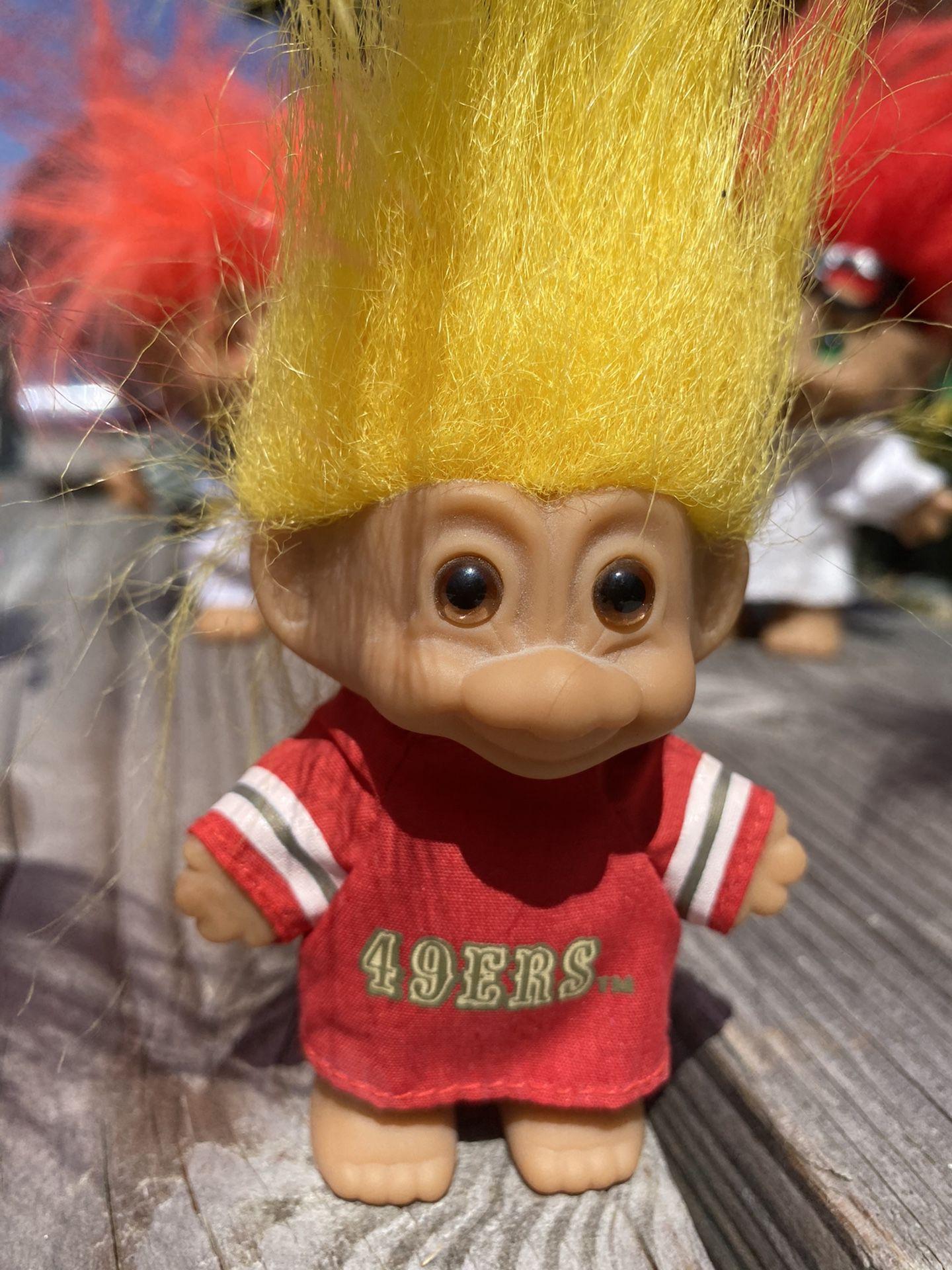 Original Russ Trolls 49ers Collectible Dolls Toys