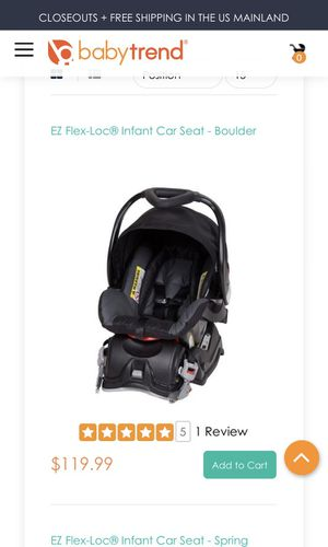 New Baby Trend Car Seat For Sale In Tulare CA