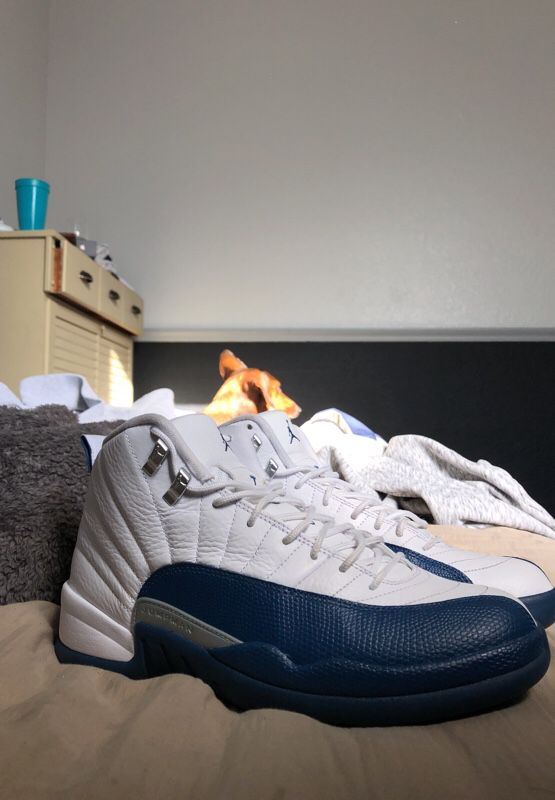 french blue 12s size 10