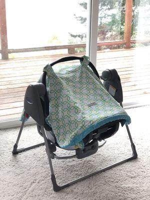 Photo Graco infant car seat swing