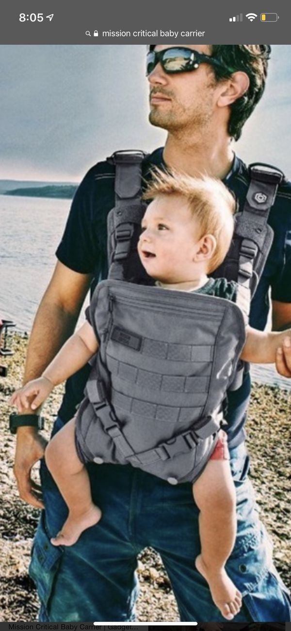 Mission Critical Baby Carrier And Pack Pack Grey For Sale In San Antonio Tx Offerup