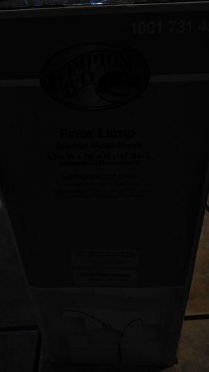 Floor lamp never used still in the box for Sale in Boynton Beach, FL