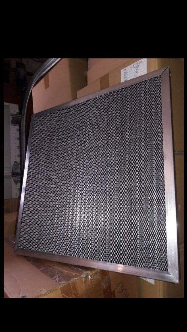 Washable central air conditioner filter