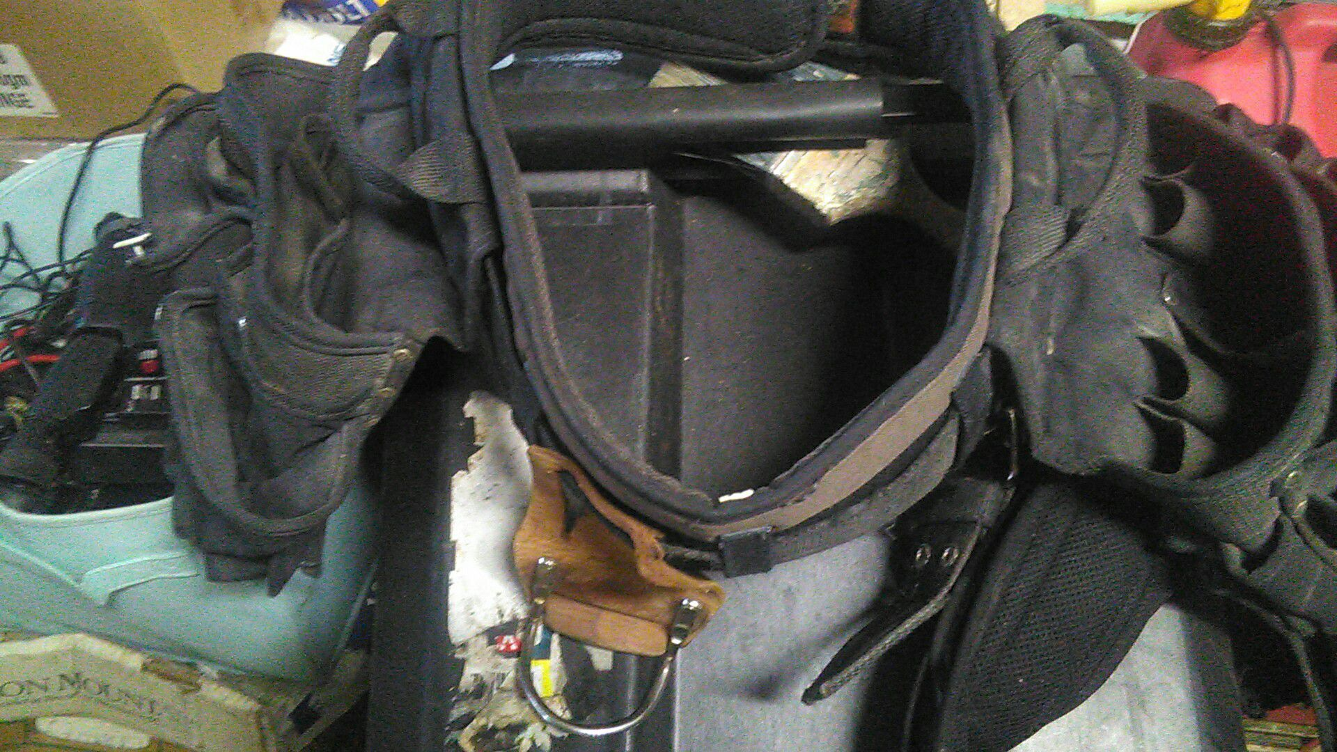 Tool bags and belts