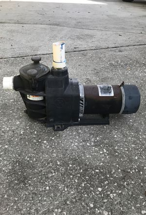 Photo 1hp Electric pool pump