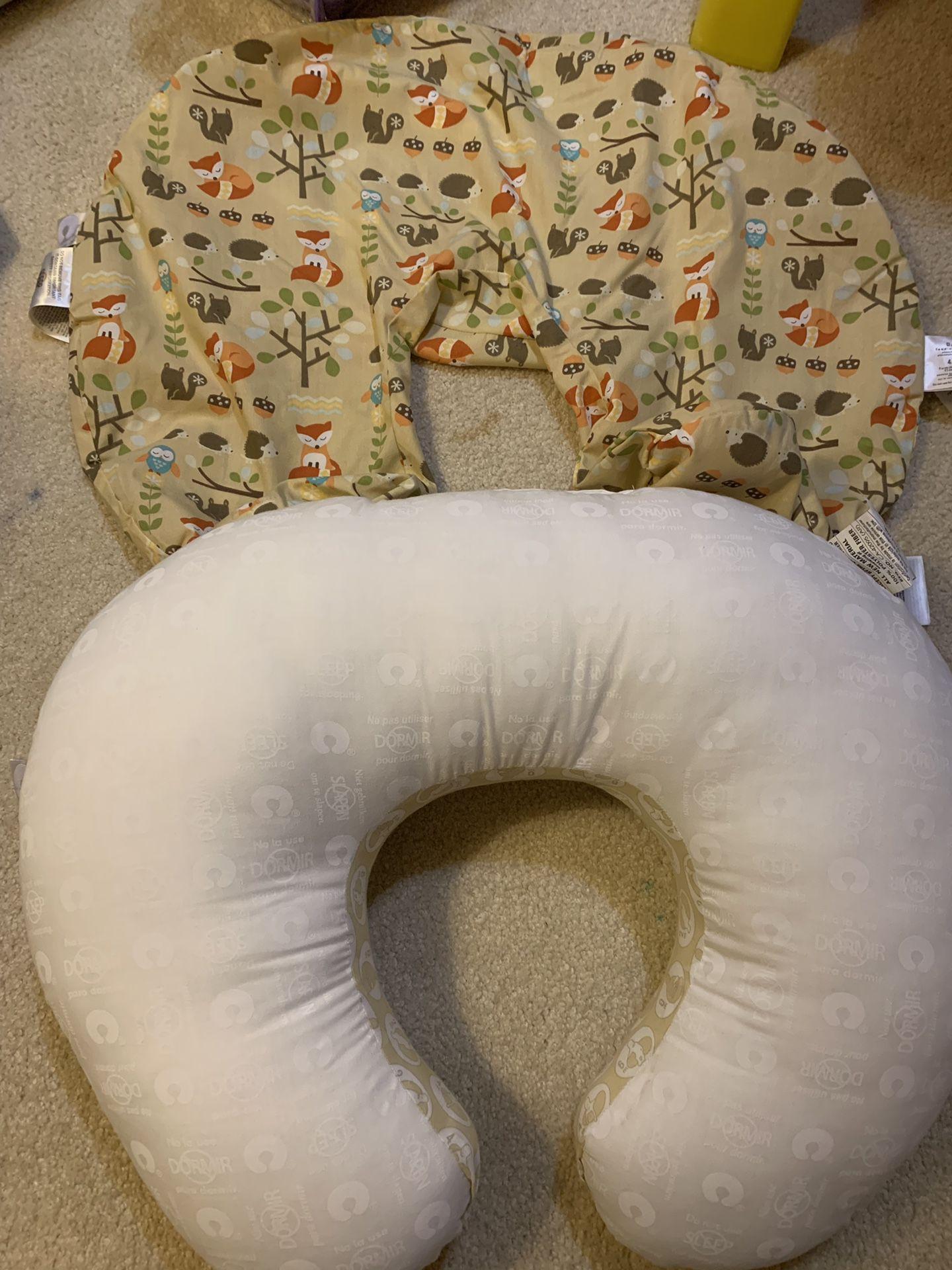 Boppy nursing pillow and positioner