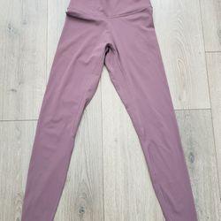 Light Purple Yoga Leggings  Thumbnail