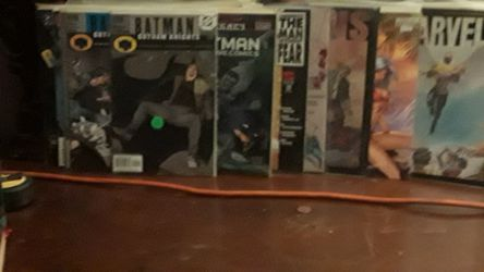 Assortment of comic books over 50 from Marvel to DC Comics Thumbnail