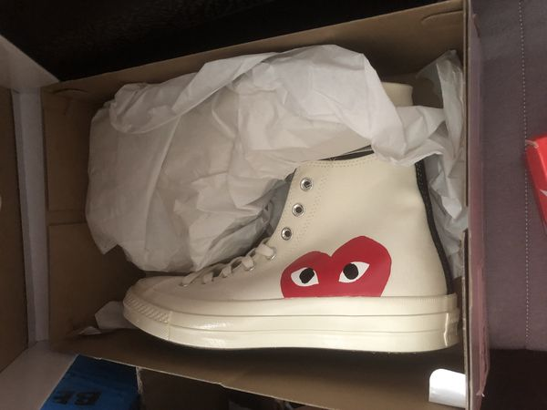 3ee6f64dd87c Comme des garçons CDG CONVERSE size 9 men s 11 women s for Sale in Virginia  Beach