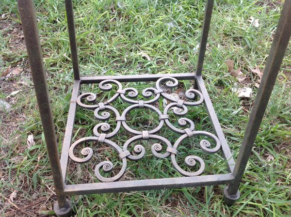 Pair Of Heavy Wrought Iron Plant Stands Or Table Bases For In Irving Tx Offerup