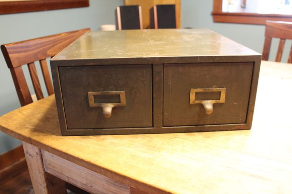 Vintage Card Catalog For Sale In Chapel Hill Nc Offerup