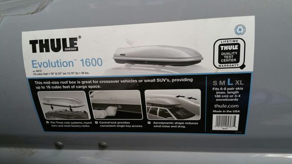 Thule Evolution 1600 >> Thule Evolution 1600 For Sale In Santa Clara Ca Offerup