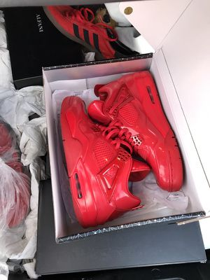 Red air Jordan lab 4s for Sale in Pittsburgh, PA