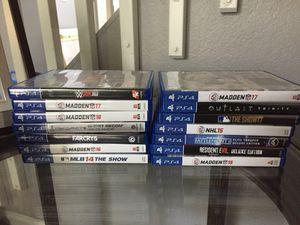 PS4 games for Sale in Denver, CO